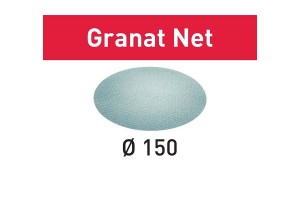 FESTOOL Netzschleifmittel STF D150 P100 GR NET/50 Granat Net