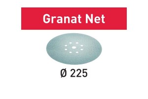 FESTOOL Netzschleifmittel STF D225 P150 GR NET/25 Granat Net