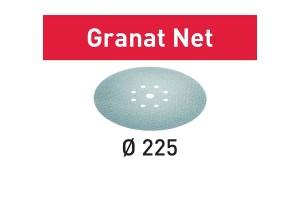 FESTOOL Netzschleifmittel STF D225 P180 GR NET/25 Granat Net