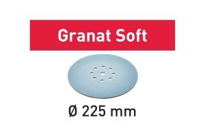 FESTOOL Schleifscheibe STF D225 P100 GR S/25 Granat Soft