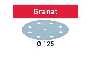 FESTOOL Schleifscheibe STF D125/8 P120 GR/100 Granat