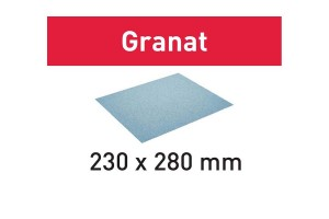 FESTOOL Schleifpapier 230x280 P40 GR/25 Granat