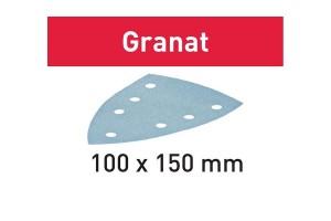 FESTOOL Schleifblatt STF DELTA/7 P100 GR/100 Granat