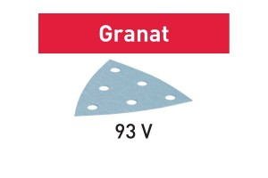 FESTOOL Schleifblatt STF V93/6 P400 GR/100 Granat