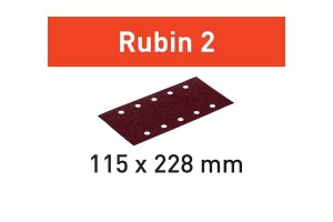 FESTOOL Schleifstreifen STF 115X228 P120 RU2/50 Rubin 2