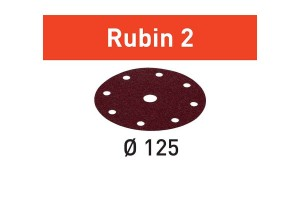 FESTOOL Schleifscheibe STF D125/8 P220 RU2/10 Rubin 2