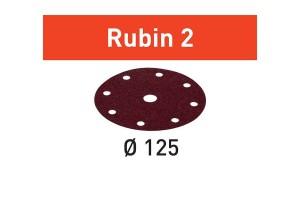 FESTOOL Schleifscheibe STF D125/8 P80 RU2/10 Rubin 2