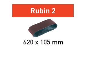 FESTOOL Schleifband L620X105-P100 RU2/10 Rubin 2