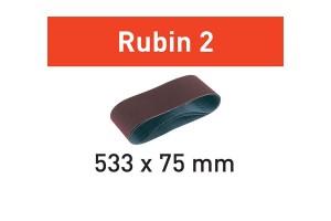 FESTOOL Schleifband L533X 75-P80 RU2/10 Rubin 2