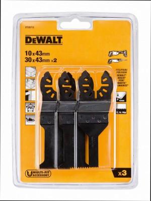 DEWALT 3-tlg. Multi Tool Zubehör Set