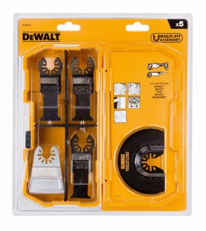 DEWALT 5-tlg. Multi Tool Zubehör Set