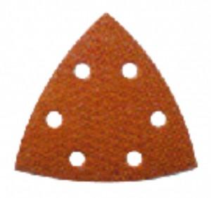 DEWALT Dreiecksschleifpapier 93x93mm, gelocht