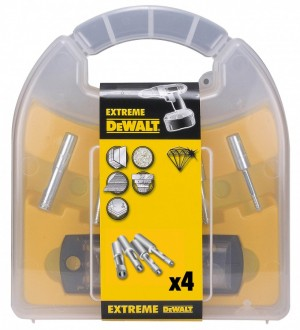 DEWALT Set EXTR. Fliesenb. 6-15mm +WZS (4-tlg.)