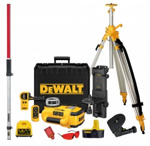 DEWALT 18V Rotationslaser-Kit 2,6 Ah NiMH +Stat DW 079 PKH
