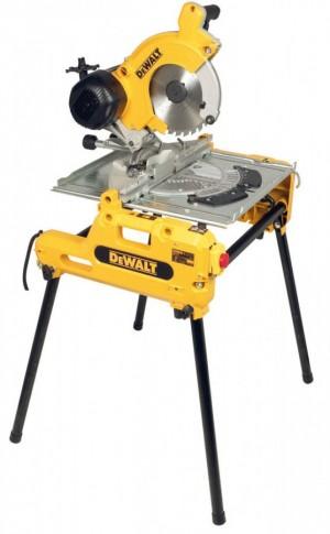 DEWALT Tisch-, Kapp- und Gehrungssaege 250mm DW 743N