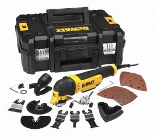 DEWALT 300 Watt oszillierendes Multi-Tool-Set DWE 315 KT