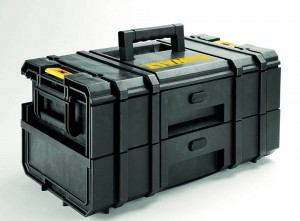 DEWALT DS250 ToughBox mit 2 Schubladen DWST1-70728