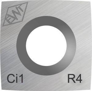 Ersatschneide eckig 15 mm - leichter Radius