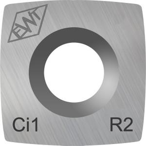 Ersatschneide eckig 15mm - mit stärkerem Radius