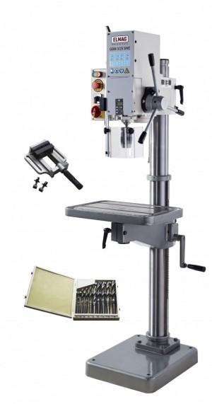 ELMAG GBM 3/25SNE-SET Getriebe- Säulenbohrmaschine