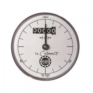 Digitaluhr für Kreissäge-, Fräshöhen- und Bohrhöhenanzeige | USA Inch