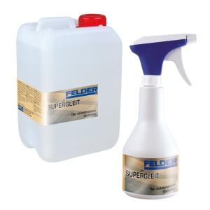 SET-Angebot FELDER® Supergleit Sprühflasche 0,5 l und FELDER® Supergleit Nachfüllpackung 3 l