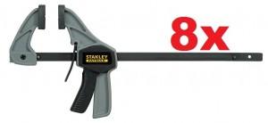 8 Stk. Stanley FatMax Einhandzwingen 38 x 120 mm