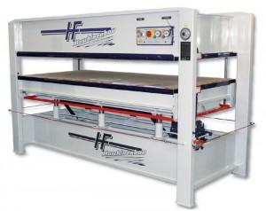 Elektro-Hydraulische Furnierpressen Type V-20 bis V-120