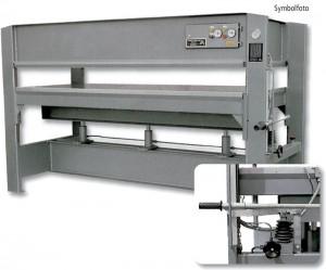 Manuell-Hydraulische Furnierpressen Type H-20 / H-30 und H-40