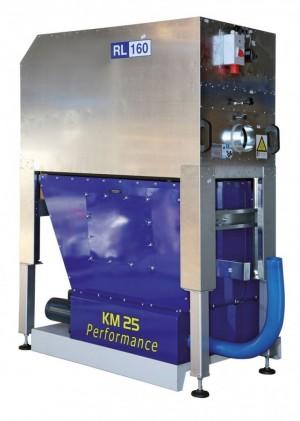 Brikettierpresse KM25-FRL für Kombination mit Reinluftgerät RL 160 / RL 200