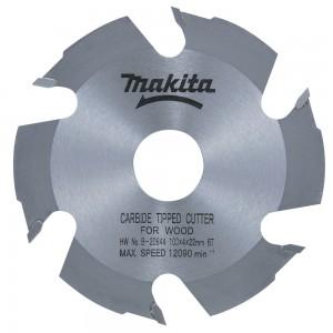 MAKITA HM-Nutfräse, 100 x 22 mm, 6 Zähne