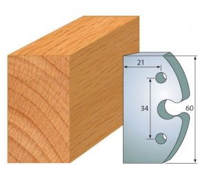 Profilmesser bzw. Abweiser 60 mm Nr. 6000