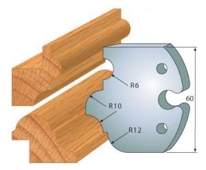 Profilmesser bzw. Abweiser 60 mm Nr. 6001