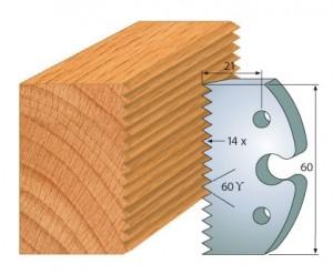 Profilmesser bzw. Abweiser 60 mm Nr. 6003