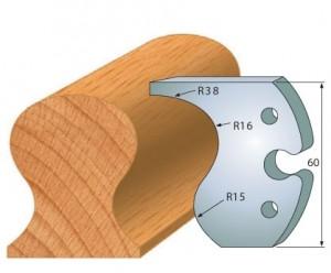 Profilmesser bzw. Abweiser 60 mm Nr. 6004