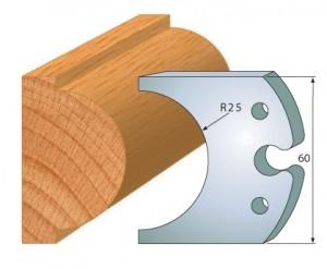 Profilmesser bzw. Abweiser 60 mm Nr. 6008