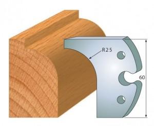 Profilmesser bzw. Abweiser 60 mm Nr. 6010