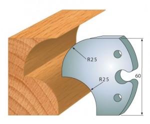 Profilmesser bzw. Abweiser 60 mm Nr. 6011