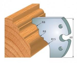 Profilmesser bzw. Abweiser 60 mm Nr. 6012