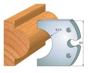 Profilmesser bzw. Abweiser 60 mm Nr. 6016