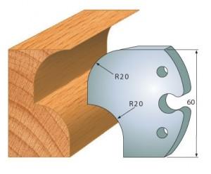 Profilmesser bzw. Abweiser 60 mm Nr. 6019