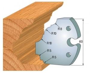 Profilmesser bzw. Abweiser 60 mm Nr. 6021