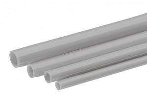 Rohrleitungen (PA) grau -  10 m Rolle