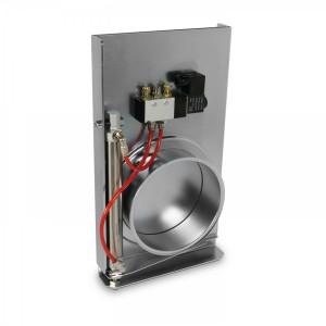 Elektro/pneumatisch betriebener Schieber