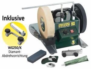 RECORD POWER WG250 Nassschleifmaschine