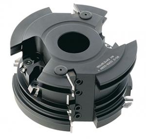 WPL-HW-Türfutter-Dichtungsnut-Frässatz Industrie-Ausführung