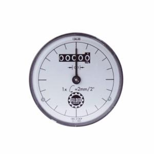 Digitaluhr für Kreissäge-, Fräshöhen- und Bohrhöhenanzeige, passend für System-Handrad Serie 6+7+700 (mm)