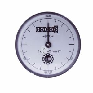 Digitaluhr für Kreissäge-, Fräshöhen- und Bohrhöhenanzeige, passend für System-Handrad Serie 6+7+700 (inch)