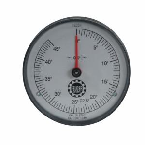 Digitaluhr für Gradanzeige für KRS-Schwenkung