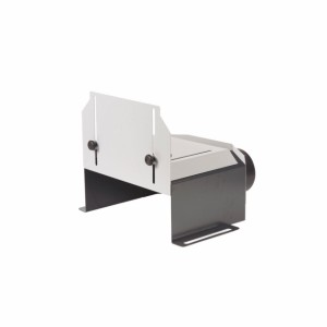 Schlitzscheibenabdeckung Ø350mm mit Zugriffschutz, für FELDER Serie900 und FORMAT-4